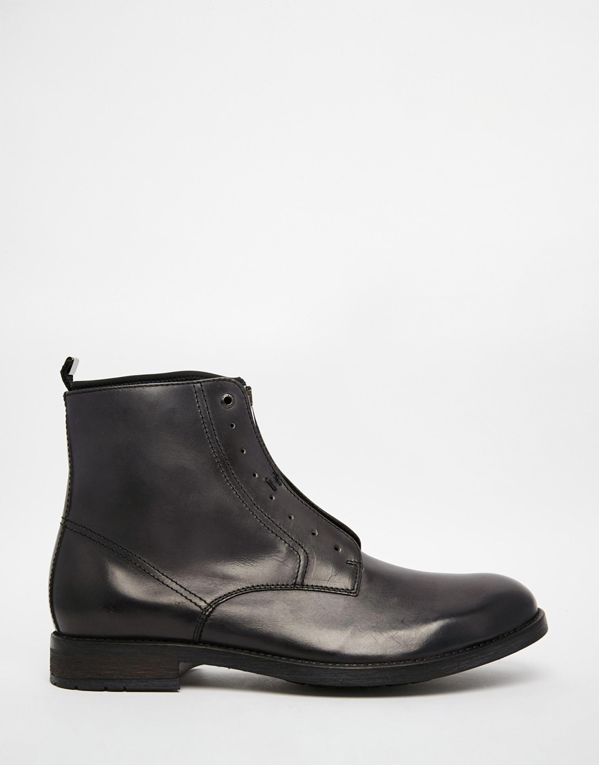 Diesel Dokey Zip Boots In Black For Men Lyst