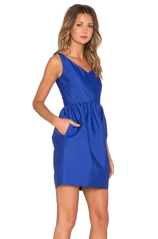 kate spade new york cupcake skirt dress in blue lyst