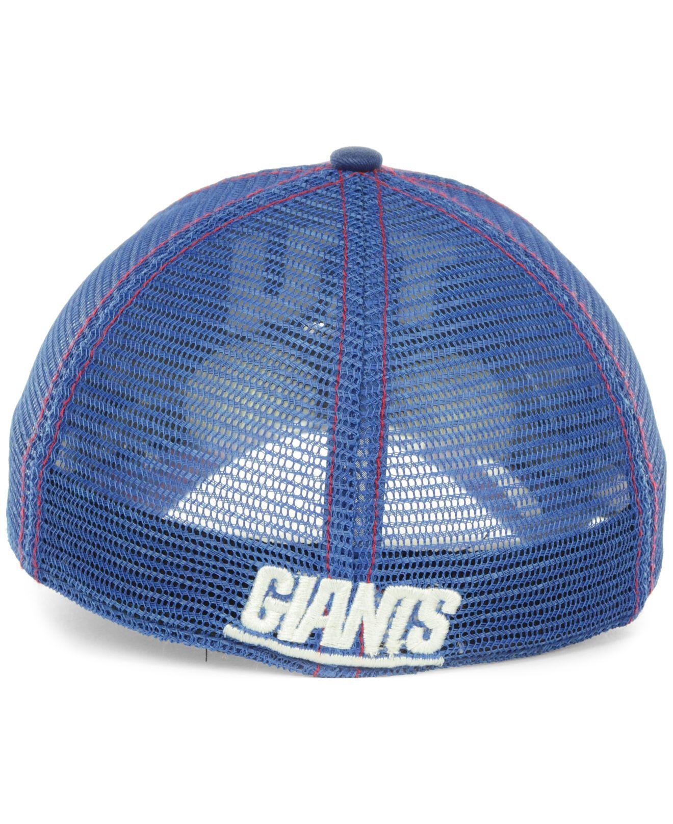 47 brand new york giants flexbone cap in blue for men lyst. Black Bedroom Furniture Sets. Home Design Ideas