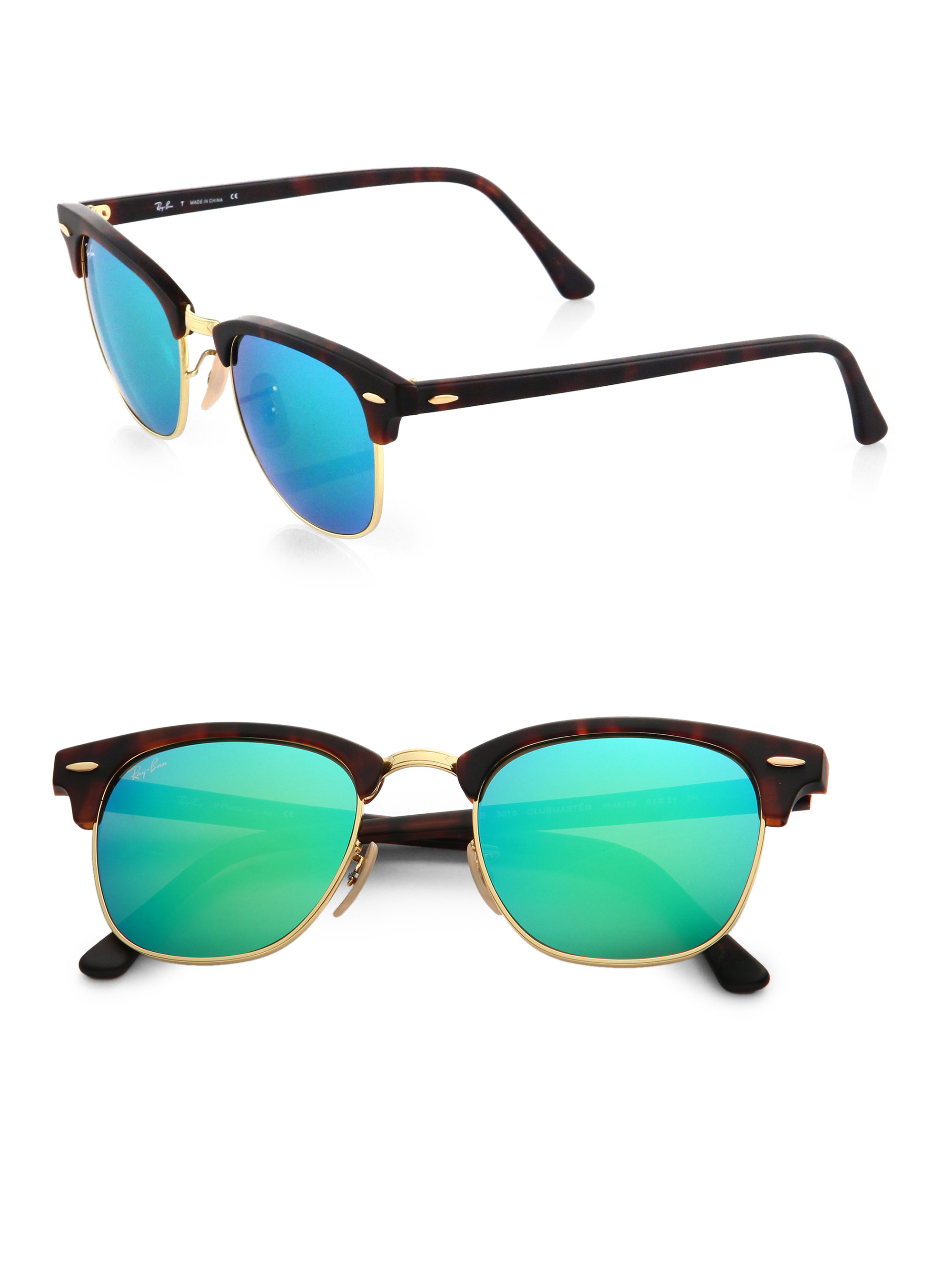a167322979 ... usa previously sold at saks fifth avenue womens clubmaster sunglasses  womens ray ban clubmaster e7fbe df8ab