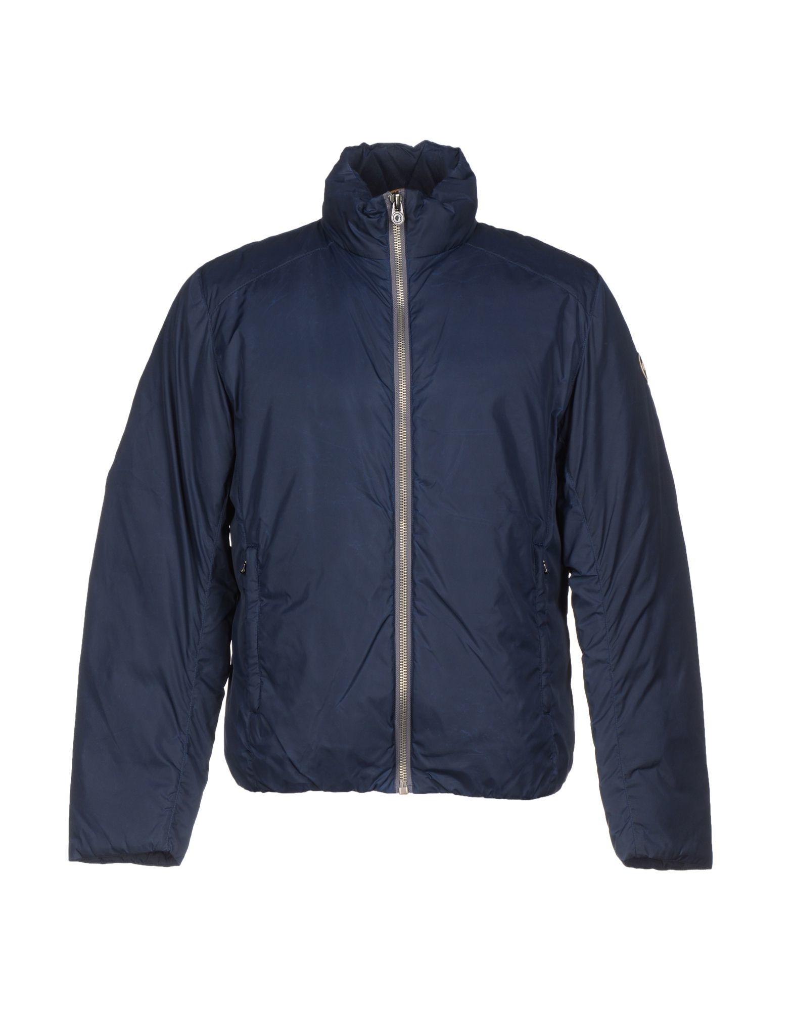 colmar down jacket in blue for men lyst. Black Bedroom Furniture Sets. Home Design Ideas