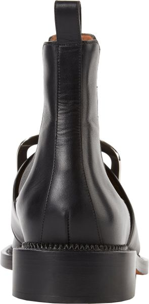 Givenchy Buckle Strap Tina Boots In Black For Men Lyst