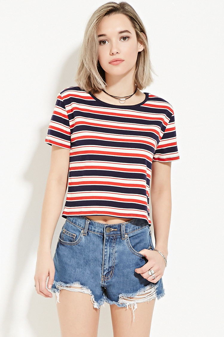 f44f15e390 Blue And White Striped Shirt Forever 21 – EDGE Engineering and ...