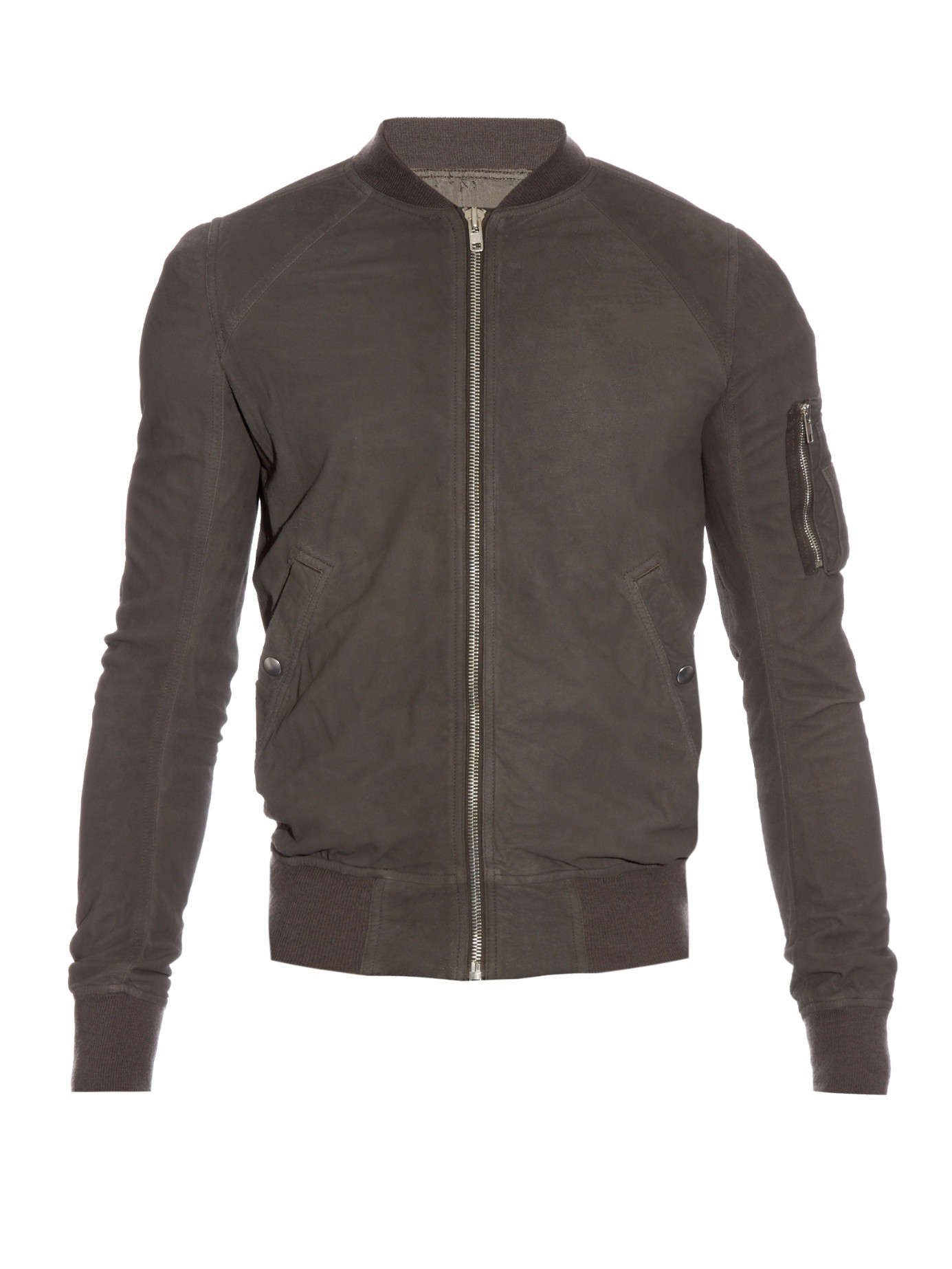 Leather Kimono Blouse Rick Owens Cheap Sale Inexpensive Online Cheap Quality Sale Nicekicks 2dga5