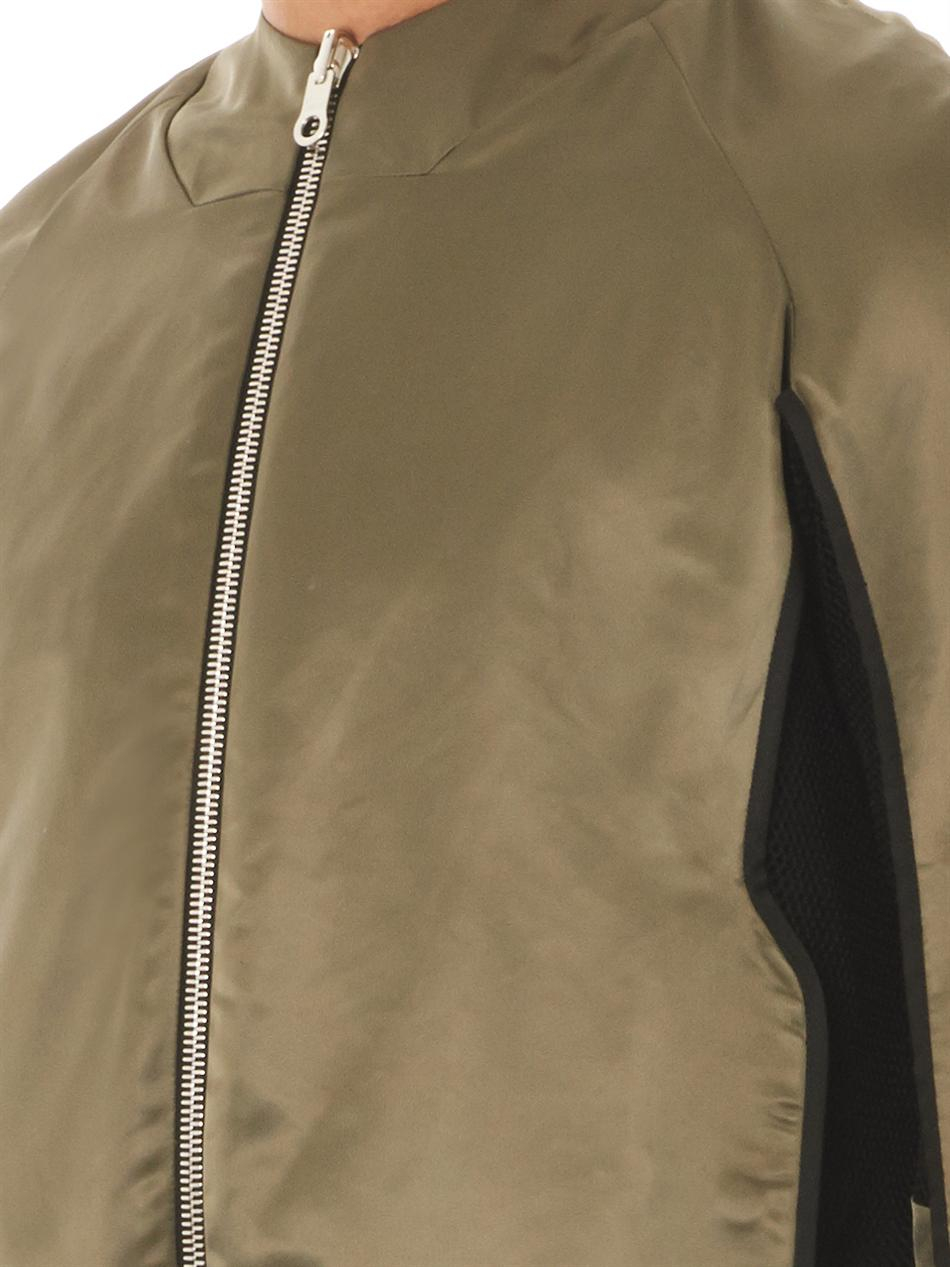 Public School Reversible Bomber Jacket in Green for Men