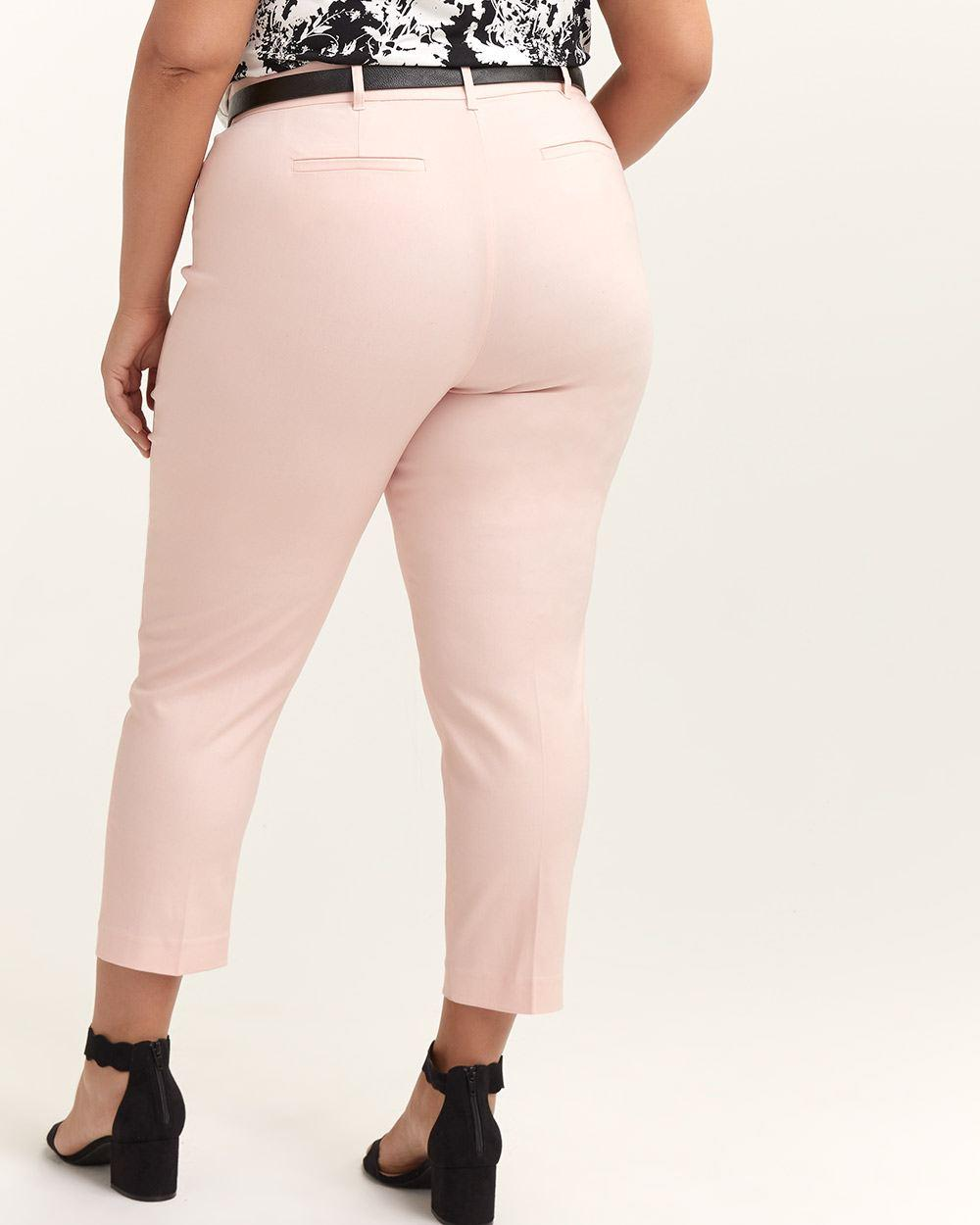 25341f2323c Lyst - Addition Elle Savvy Chic Slim Leg Ankle Pant - In Every Story in Pink