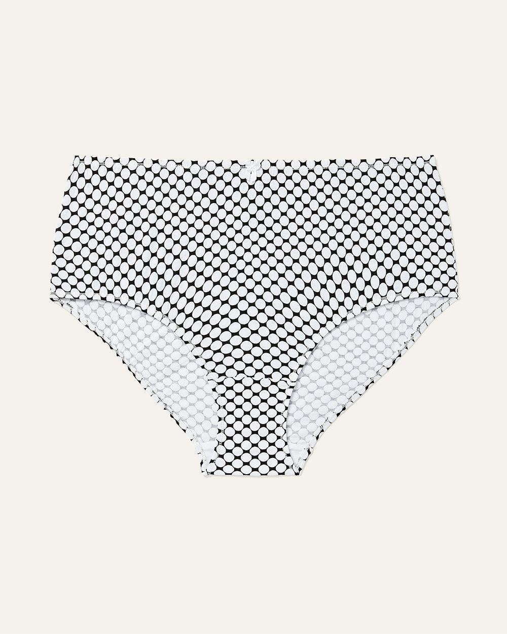 85f675938a856 Lyst - Addition Elle Printed Cotton Brief Panty - Ti Voglio in White