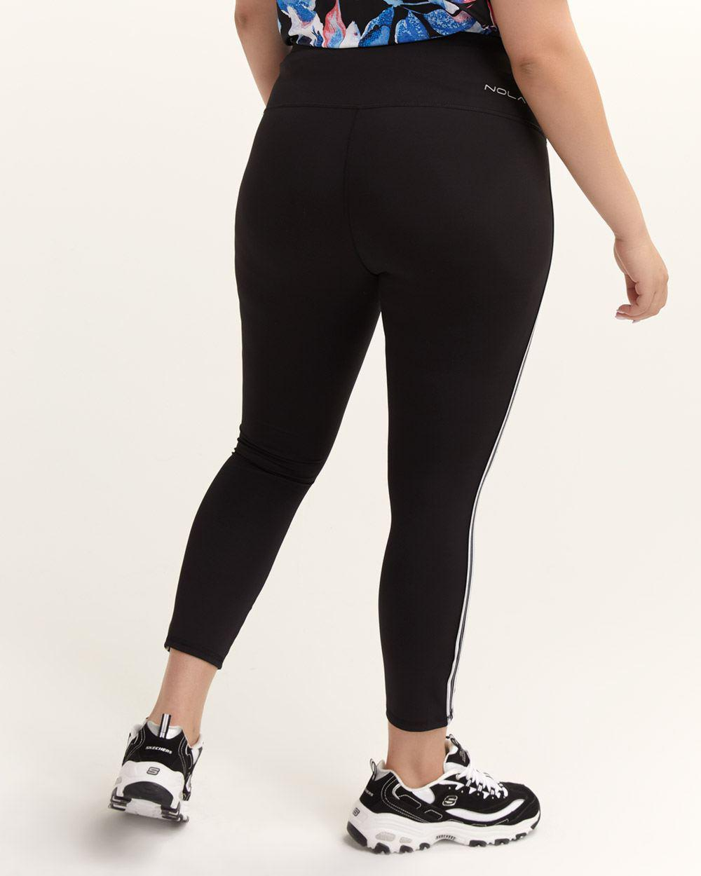 200b2d9889c5d Lyst - Addition Elle Side Stripe Legging - Nola in Black
