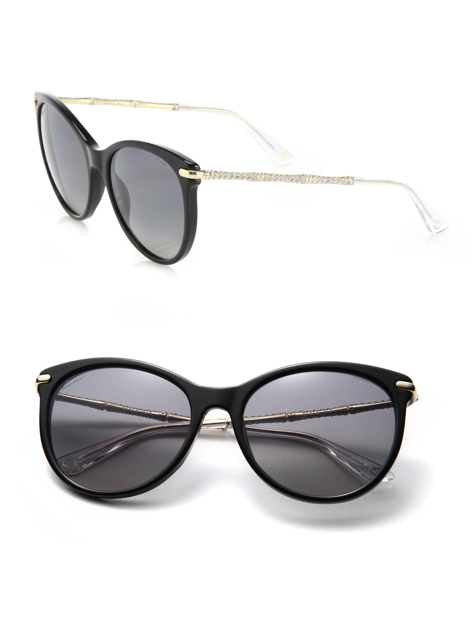 cat eye shaped sunglasses - Black Gucci nfn5r0