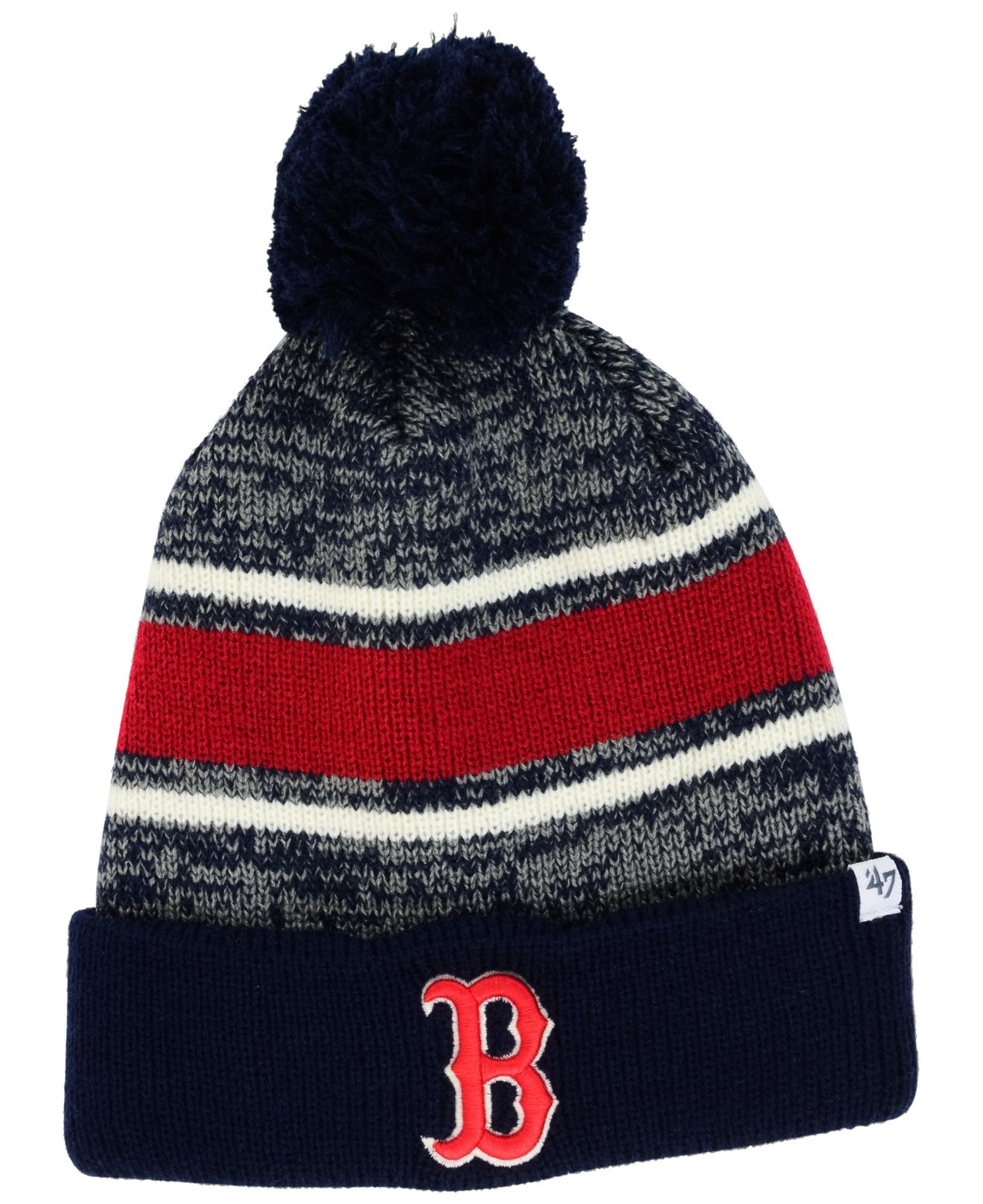 802bd0691 47 Brand Boston Red Sox Fairfax Knit Hat in Blue for Men - Lyst