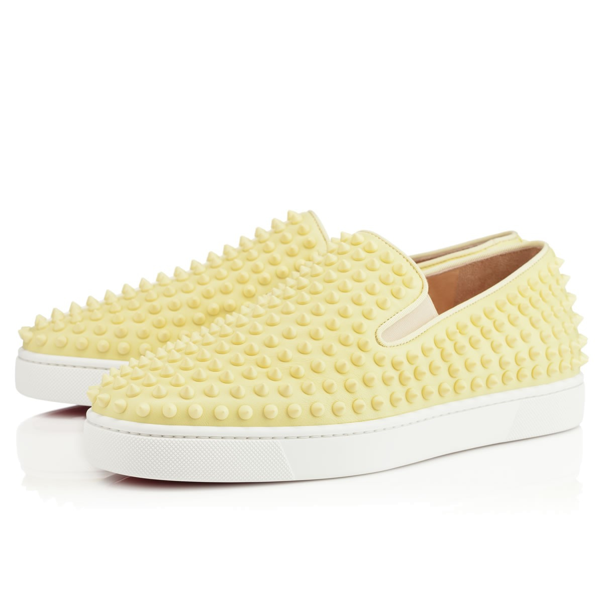 db0a6a49bd7 Lyst - Christian Louboutin Rollerboat Mens Flat in Yellow for Men