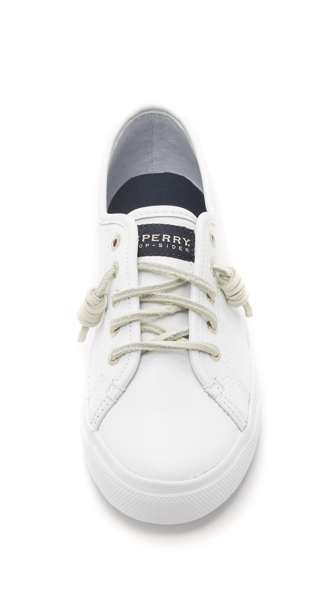 Sperry Top-Sider Seacoast Leather Sneakers in White