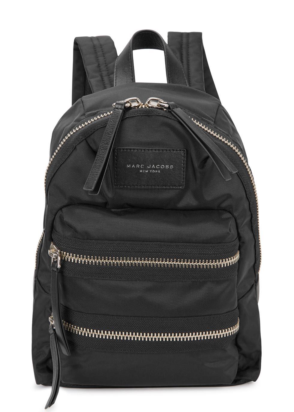 marc jacobs 39 biker 39 backpack in black lyst. Black Bedroom Furniture Sets. Home Design Ideas