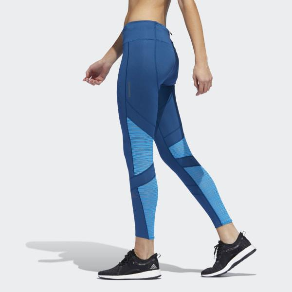 3143b19b892 Lyst - adidas How We Do 7/8 Light Tights in Blue