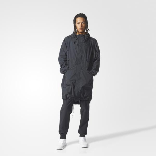 adidas Synthetic Eqt Parka in Black for