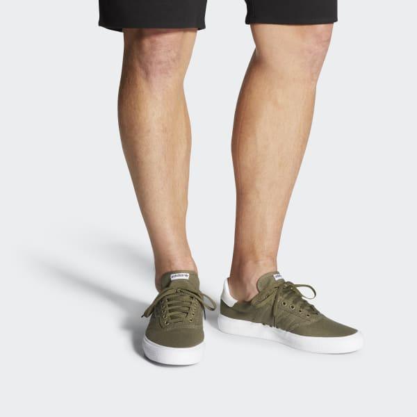 adidas 3mc Vulc Shoes in Green - Lyst
