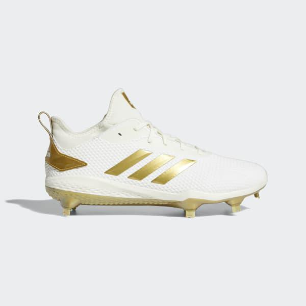 5f1a64c9bbe0 adidas Adizero Afterburner V Cleats in White for Men - Lyst