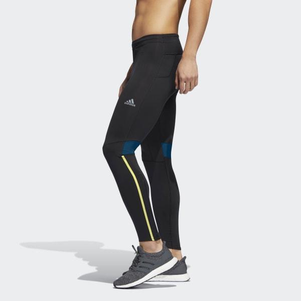 46a31f8454f1c Lyst - adidas Boston Marathon® Supernova Long Tights in Black for Men