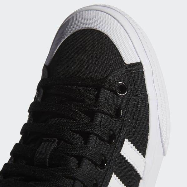 veinte en cualquier sitio fondo de pantalla  adidas Canvas Nizza Platform Mid in Black/ White/ White (Black) - Save 10%  - Lyst
