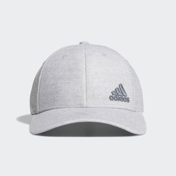 0093c39940a Adidas - Gray Release Plus Stretch Fit Hat for Men - Lyst. View fullscreen