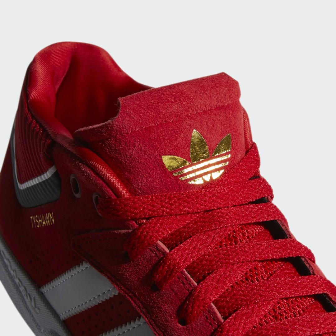 Zapatilla Tyshawn Signature adidas de color Rojo