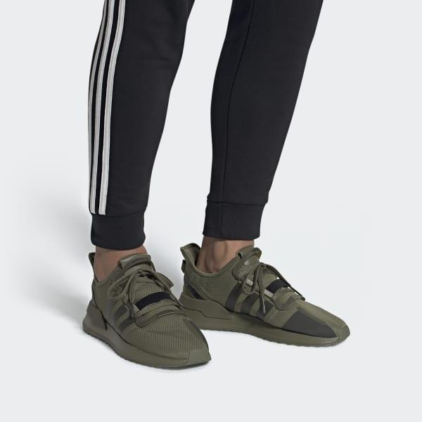 adidas Lace U_path Run Shoes in Green