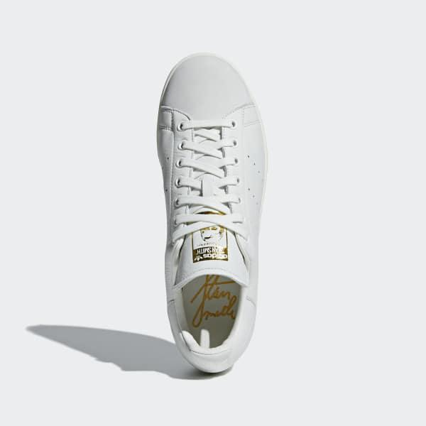 sports shoes 9f707 6ccb1 Adidas White Stan Smith Premium Fitness Shoes for men
