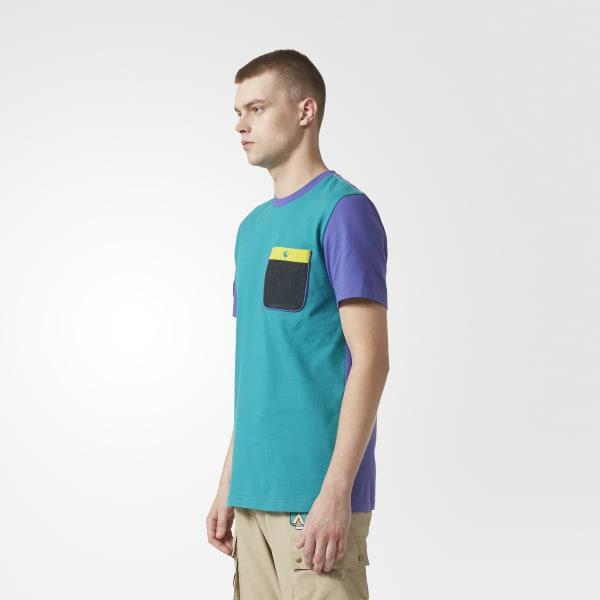 660dda3882817 Adidas - Purple Pharrell Williams Hu Hiking Tee for Men - Lyst. View  fullscreen