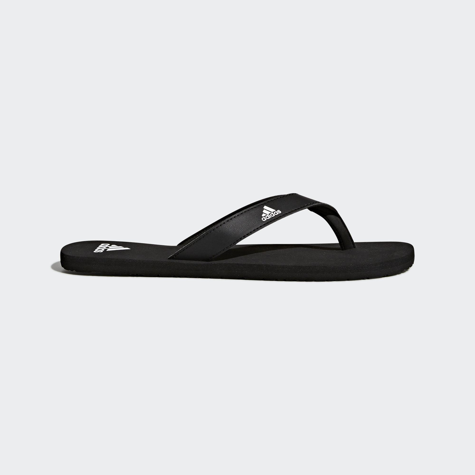 detailed look 93e28 98743 adidas. Mens Black Eezay Essence Thong Sandals