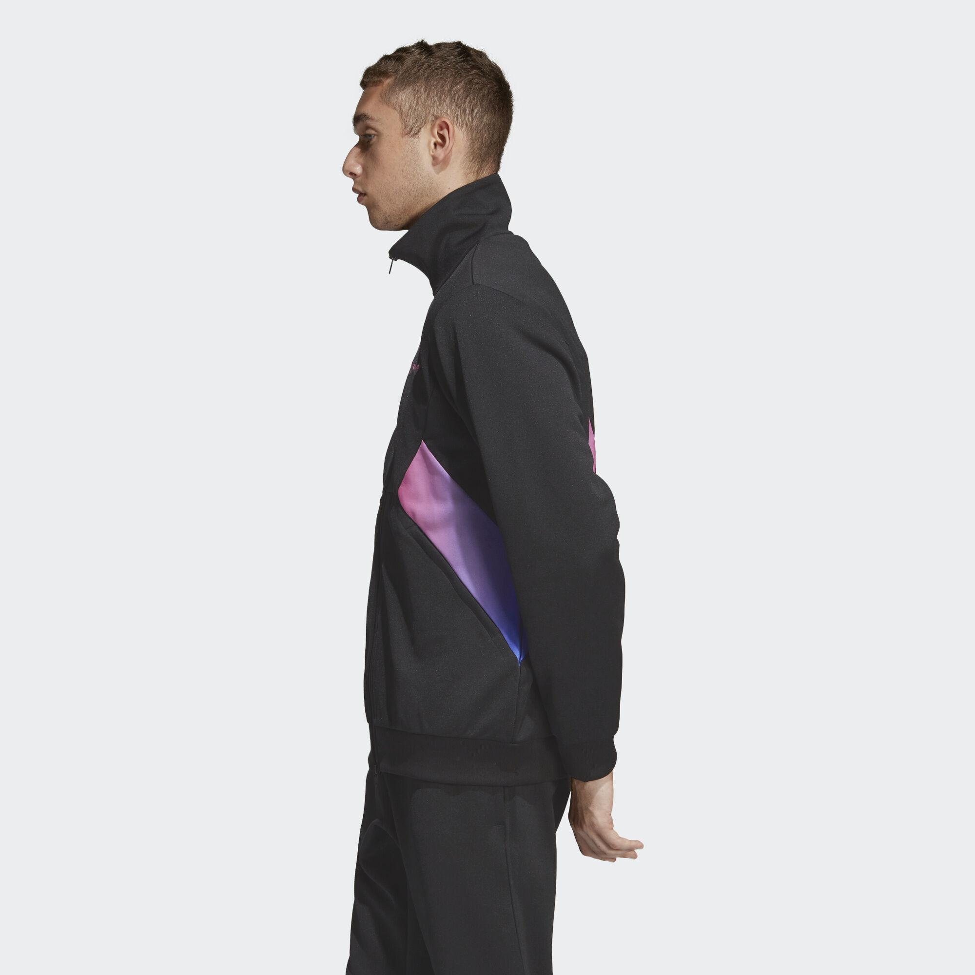new arrival speical offer a few days away adidas Synthetic Degrade Track Top in Black for Men - Lyst