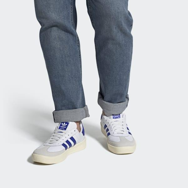 adidas Lace Barcelona Shoes in White for Men - Lyst