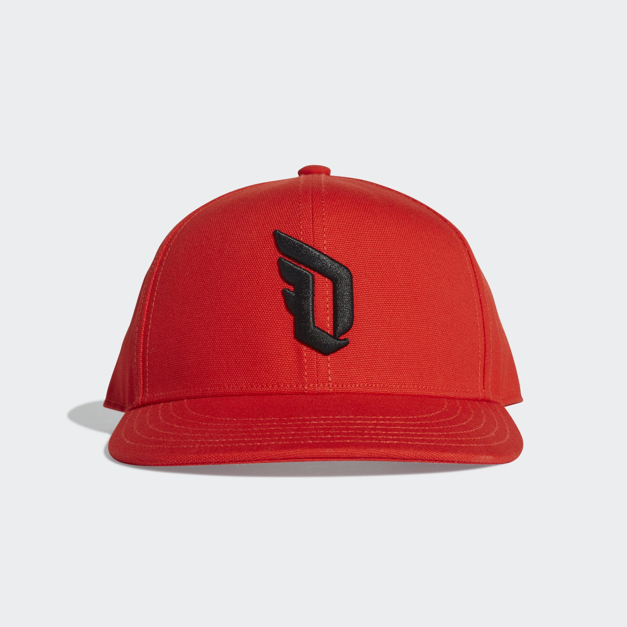 93494992bd2 adidas Dame Cap in Red for Men - Lyst