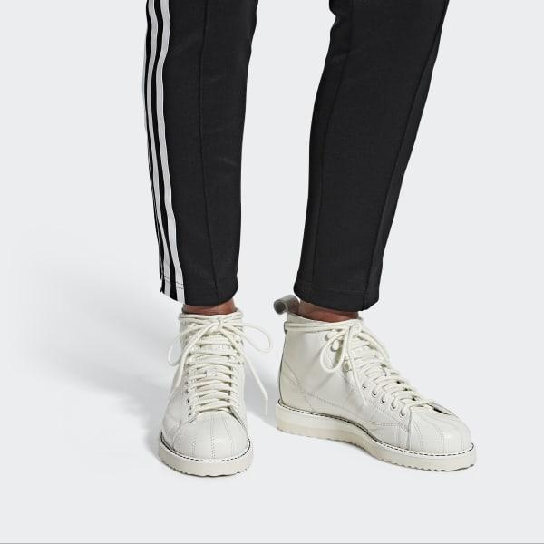 adidas Superstar Boots in White - Lyst