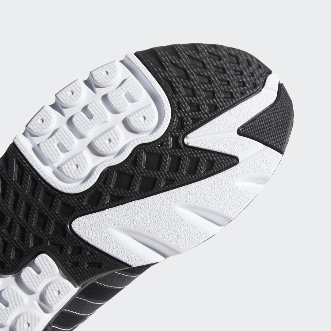 Zapatilla Nite Jogger adidas de Tejido sintético de color Negro