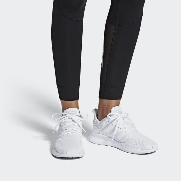 adidas Runfalcon Shoes in White - Lyst