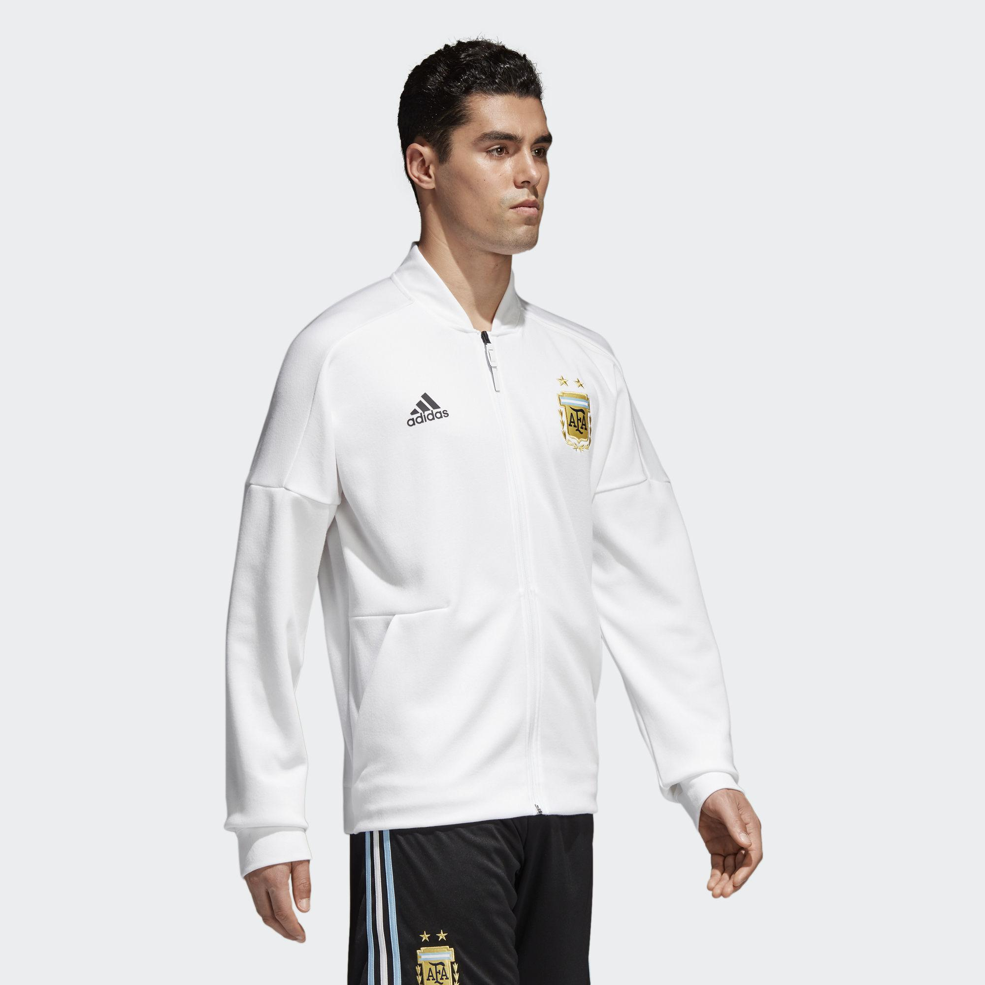 adidas Cotton Argentina Z.n.e. Jacket in White for Men