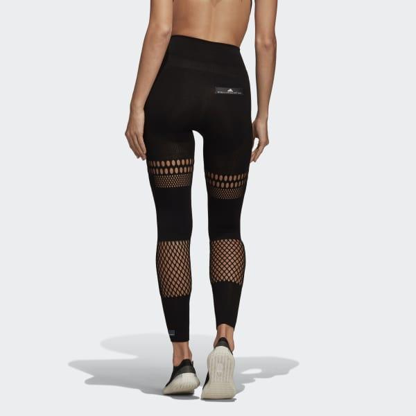 d7d4a156e5fa6 Adidas - Black Warp Knit Tights - Lyst. View fullscreen