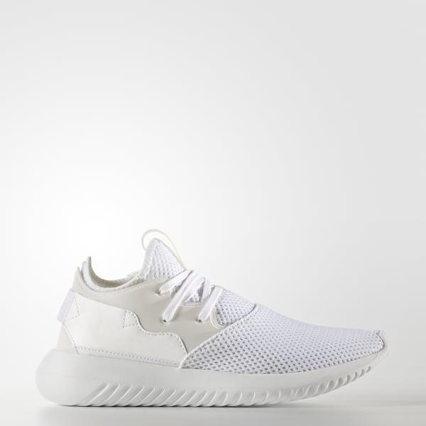 adidas Leather Tubular Entrap Shoes in White - Lyst
