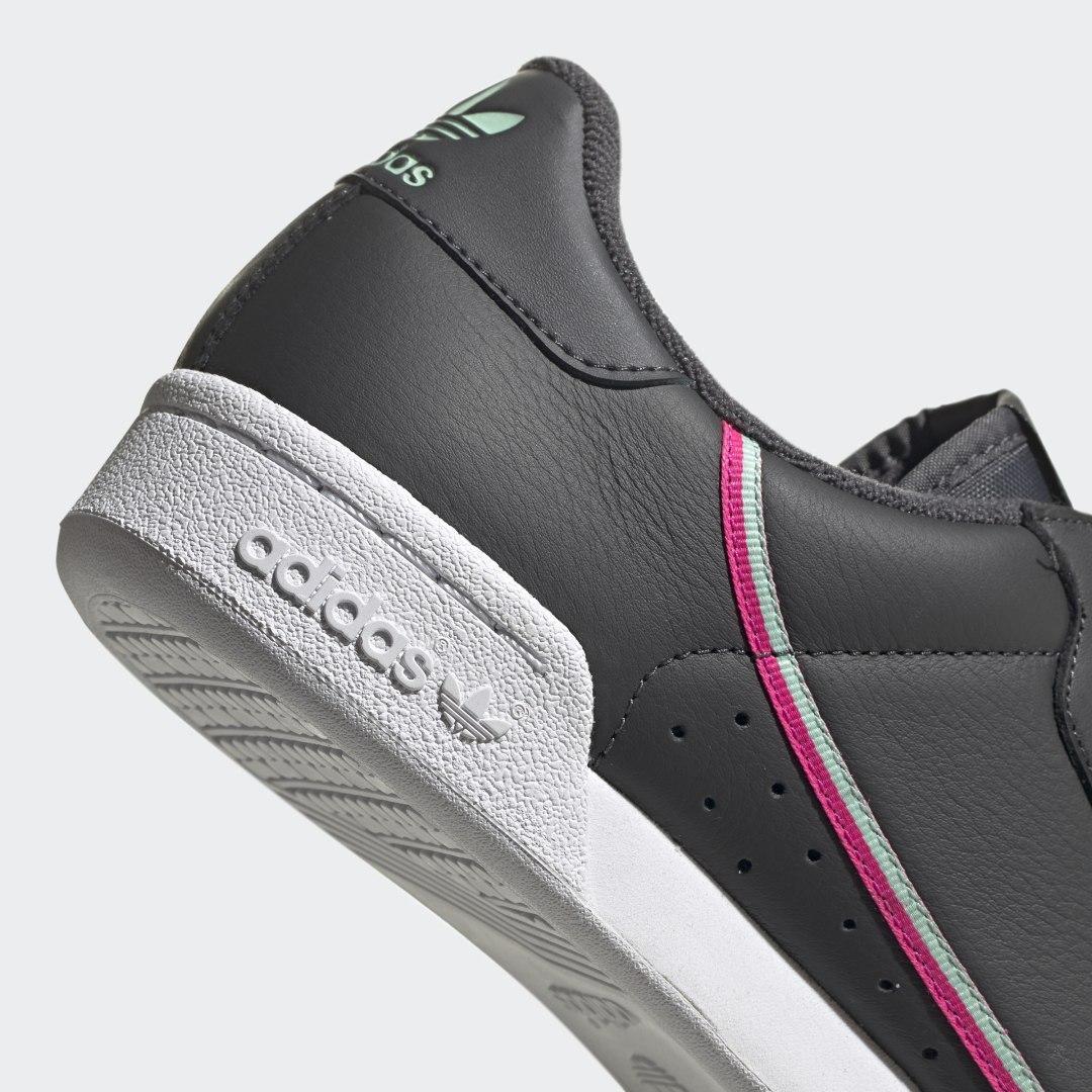 Zapatilla Continental 80 adidas de Cuero de color Gris