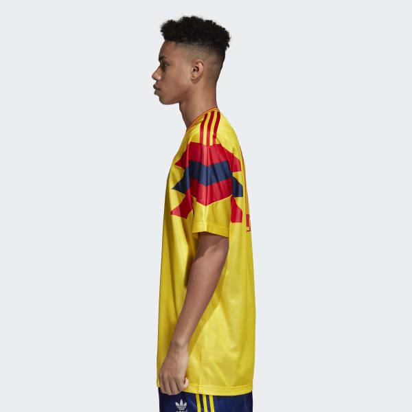 b47d7ecde adidas Colombia 1990 World Cup Jersey in Yellow for Men - Lyst
