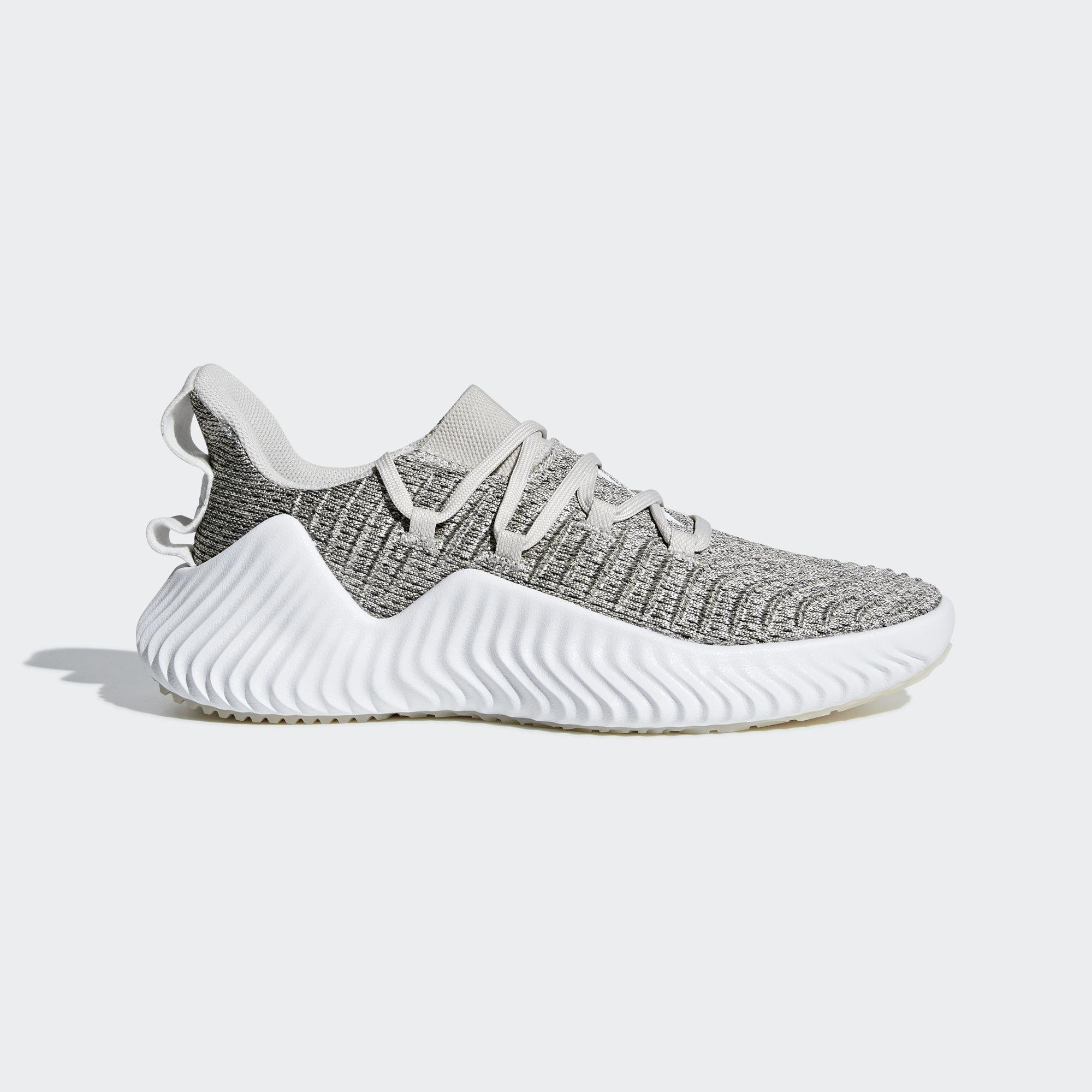 online store b4450 67cb0 adidas. Womens White Alphabounce Trainer
