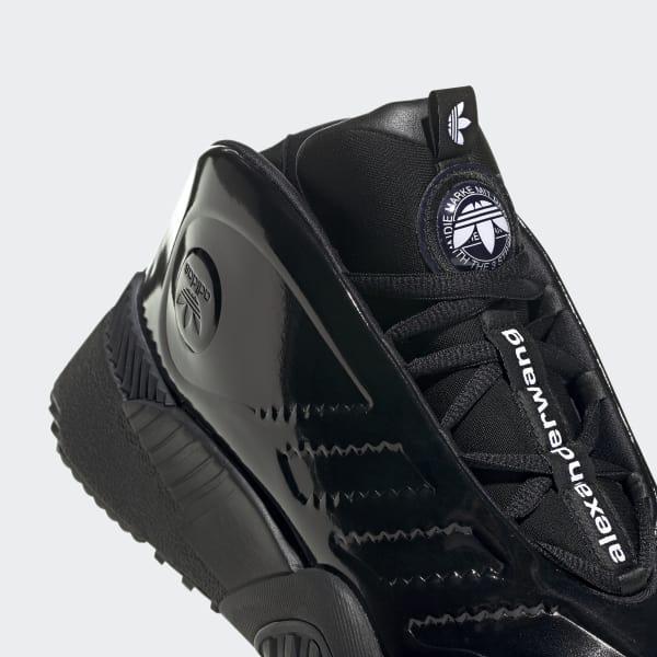 seleccione para mejor mejor elección zapatillas adidas Lace Originals By Aw Turnout Bball Shoes in Black for Men ...