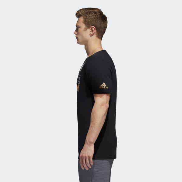 eadf9cecb6ee adidas Golden Knights Create History Tee in Black for Men - Lyst