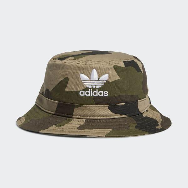 Lyst - adidas Camo Bucket Hat in Green for Men f75acb1e4eec