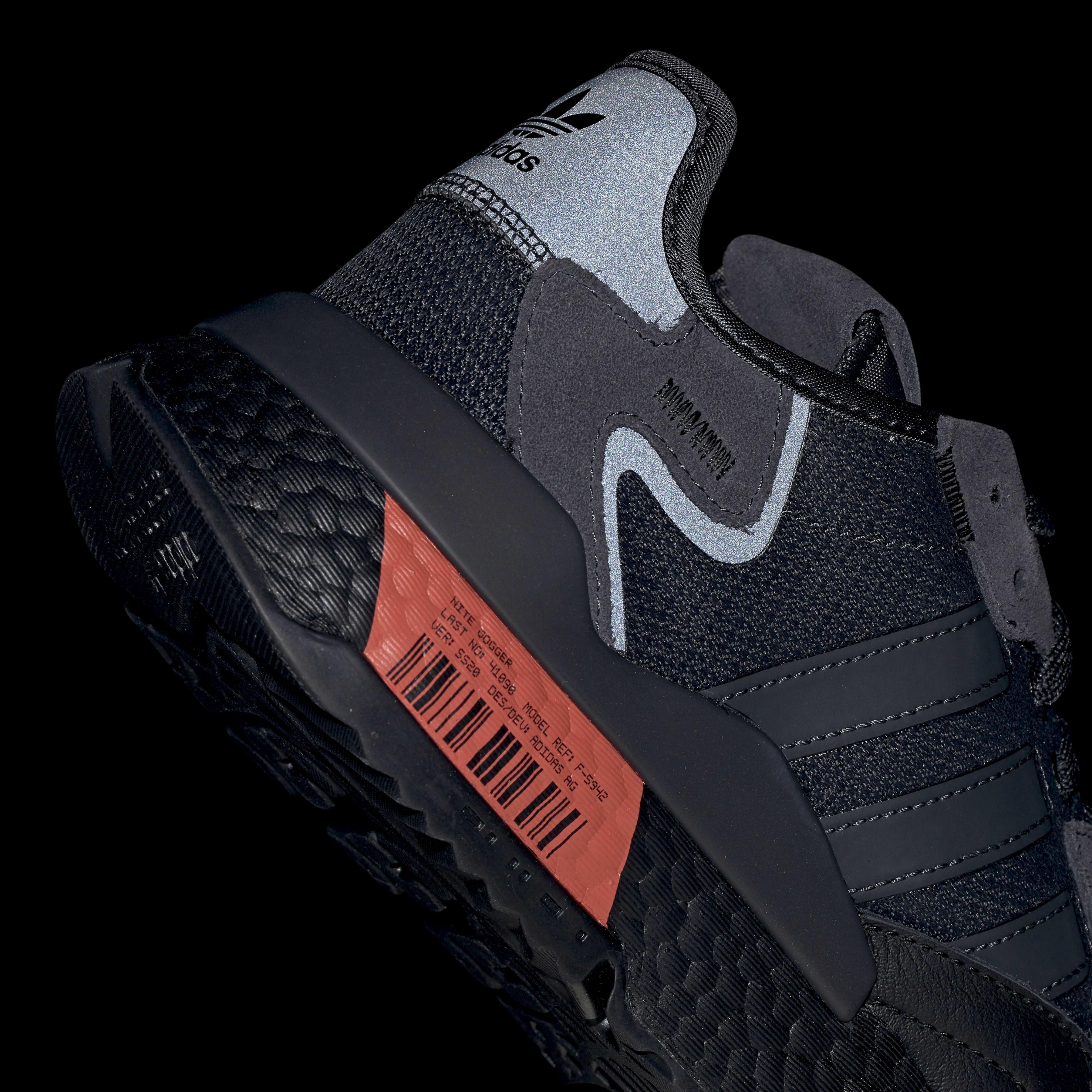 Chaussure Nite Jogger Synthétique adidas pour homme en coloris Noir