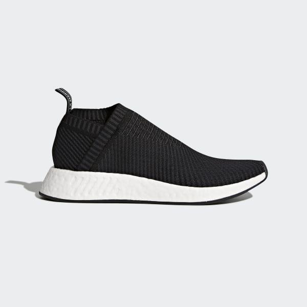 adidas Rubber Nmd_cs2 Primeknit Shoes in Black for Men - Lyst
