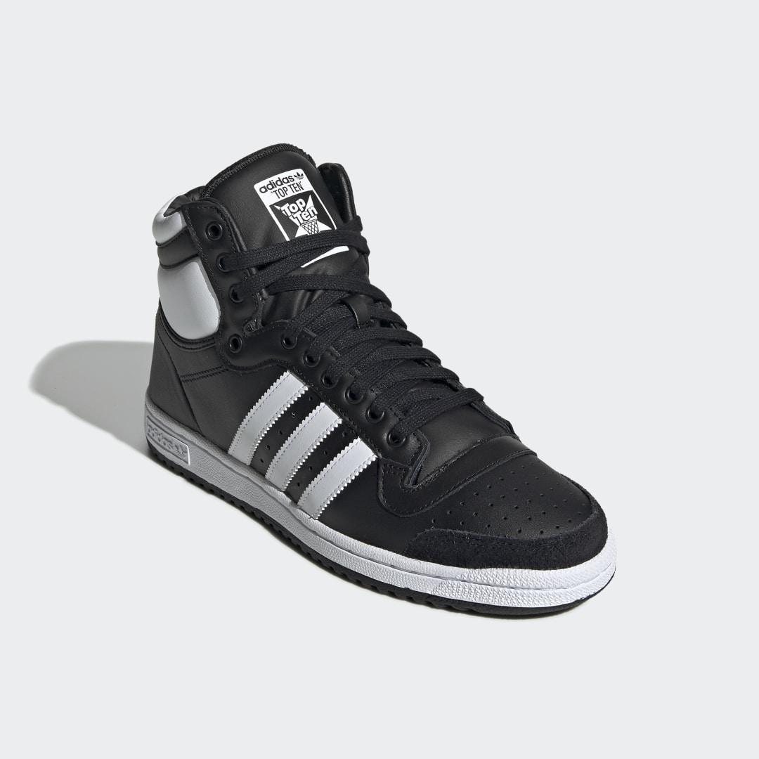 Zapatilla Top Ten Hi adidas de color Negro