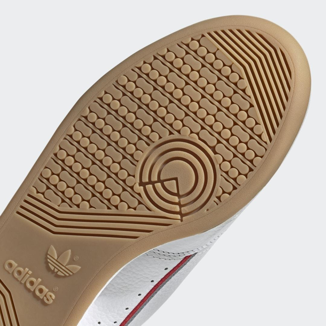Zapatilla Continental 80 adidas de Cuero de color Blanco
