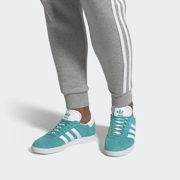adidas Suede Gazelle Shoes in Turquoise (Blue) - Lyst