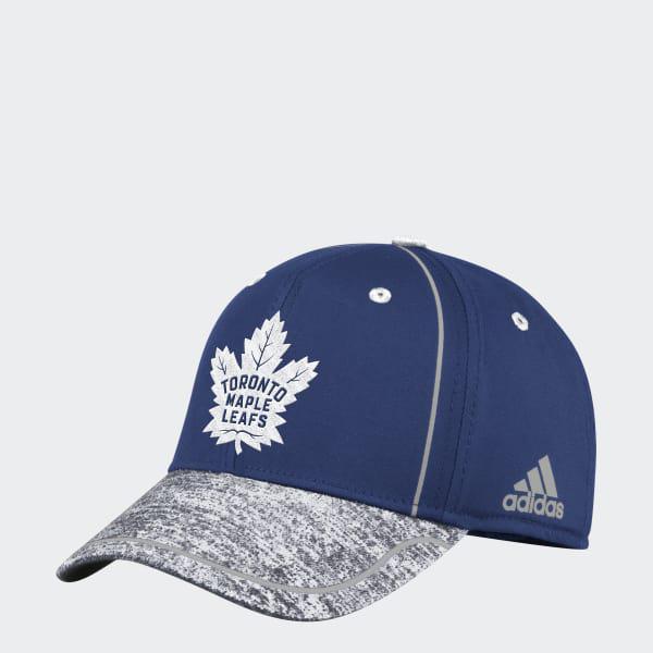 f97c2e8920 adidas Maple Leafs Flex Draft Hat in Blue for Men - Lyst